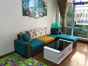 Mua bàn ghế sofa phòng khách hiện đại tại MySofa.vn