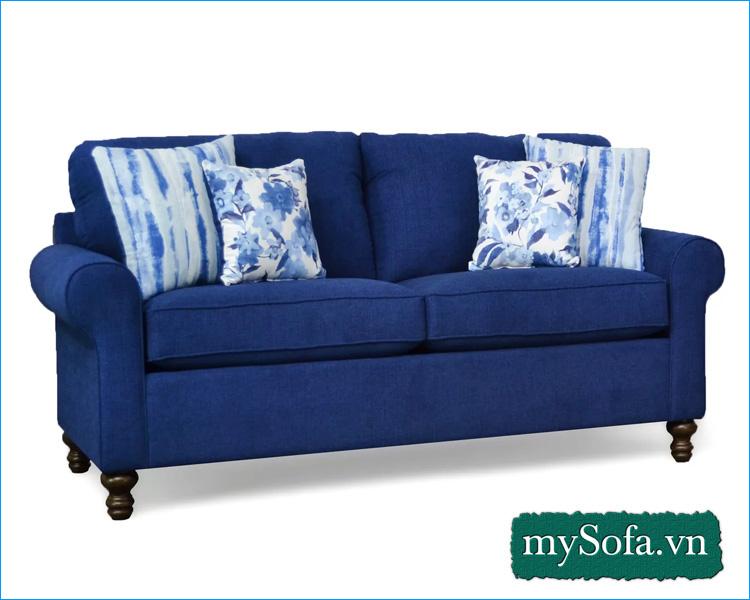 Sofa phòng ngủ đẹp dạng ghế văng 2 chỗ ngồi