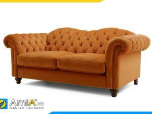 hình ảnh mẫu sofa văng nỉ tân cổ điển đẹp