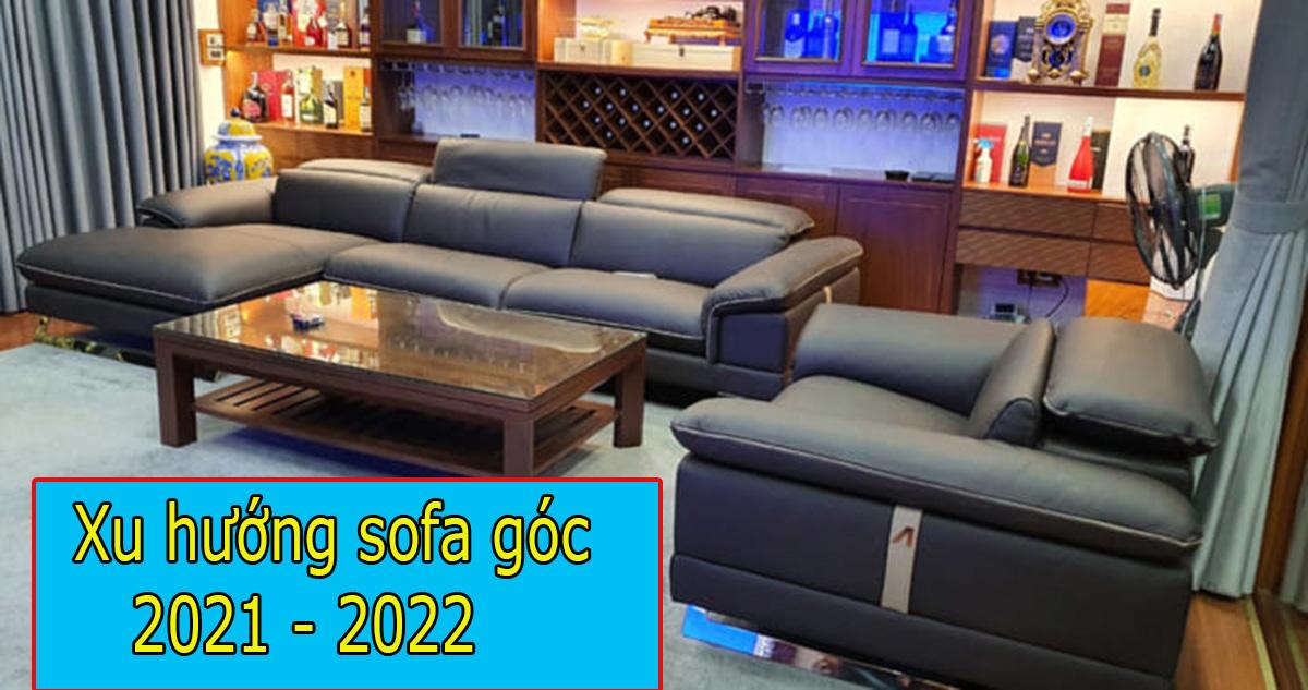 Xu hướng chọn sofa góc